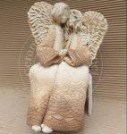 """Anioły """"para siedząca"""" wys. 30cm"""