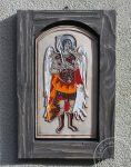 """Ikona ceramiczna """"Archanioł Michał"""""""