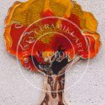 Drzewko ceramiczne jesienne