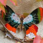 """Motyl ceramiczny """"duży"""" 21x17cm"""