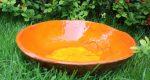 Misa ceramiczna pomarańczowa