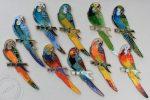 """Dekor ceramiczny """"papuga"""" - 27 cm"""