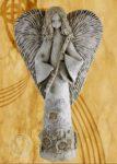 Anioł z fletem 45 lub 60cm