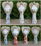 Anioły ręcznie malowane - wys. 45cm