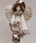 Anioł z torebką 1 - wys. 35cm