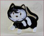 Dekor ceramiczny - kotek