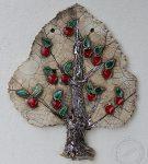 Drzewko ceramiczne - jabłoń