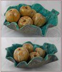 Jabłka ceramiczne w misce