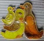 """Dekor ceramiczny """"kacza rodzina"""""""