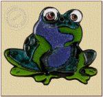 """Dekor ceramiczny """"żaba 2"""""""