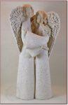 Para anielska - szamot płukany - 35cm
