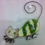 Kot szamotowy wiszący 3