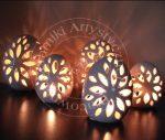 Jajka ceramiczne - lampiony