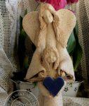 Anioł Stróż z szamotu płukanego wys. 35cm