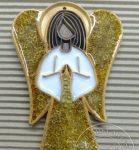 Anioł z arabeską