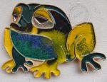 """Dekor ceramiczny """"żaba 1"""""""